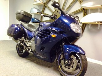 1996 Triumph TROPHY 900CC BLUE LOADED TOURING BIKE Cocoa, Florida 7