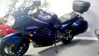 1996 Triumph TROPHY 900CC BLUE LOADED TOURING BIKE Cocoa, Florida 19
