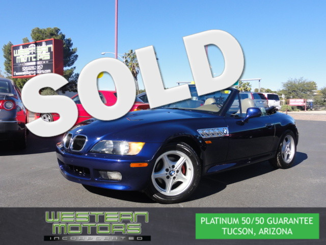 This 1997 BMW Z3 ROADSTER is a Western Motors Featured Car