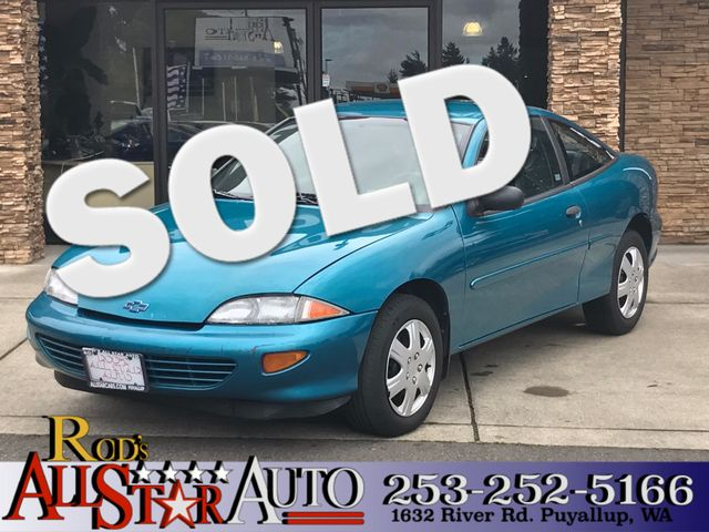 1997 Chevrolet Cavalier The CARFAX Buy Back Guarantee that comes with this vehicle means that you