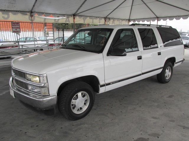 1997 Chevrolet Suburban This particular Vehicle comes with 3rd Row Seat Please call or e-mail to