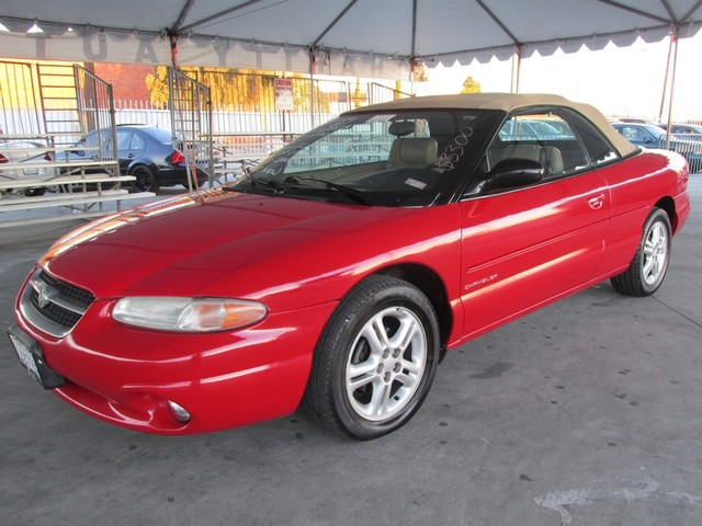 1997 Chrysler Sebring JXi Please call or e-mail to check availability All of our vehicles are av