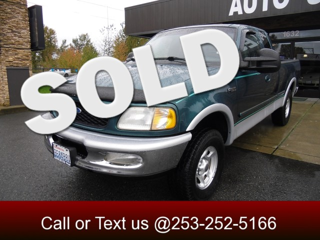 1997 Ford F-150 Lariat 4WD The CARFAX Buy Back Guarantee that comes with this vehicle means that yo