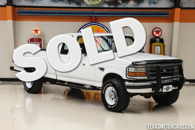1997 Ford F-250 HD This Clean Carfax 1997 Ford F-250 HD runs great with really low mileage for an 1