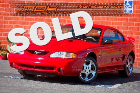 1997 Ford Mustang Cobra - 4.6L V8 - Only 11K miles in Los Angeles