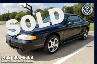 1997 Ford Mustang Cobra - LOW MILES, CLEAN CARFAX! in Garland