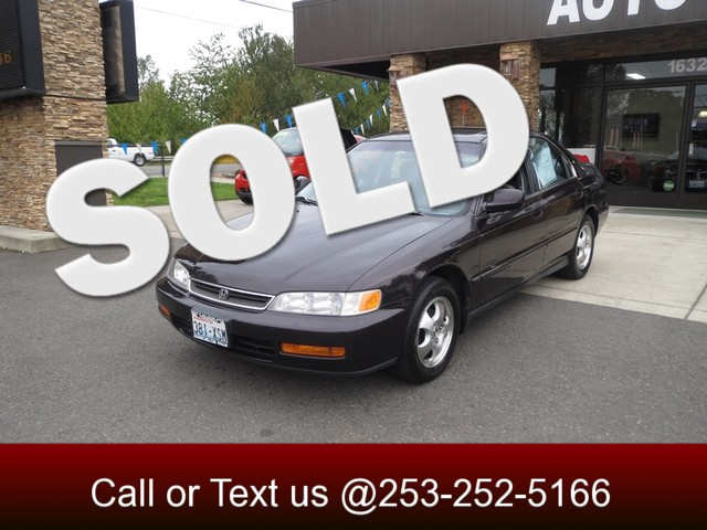 1997 Honda Accord Special Edition The CARFAX Buy Back Guarantee that comes with this vehicle means