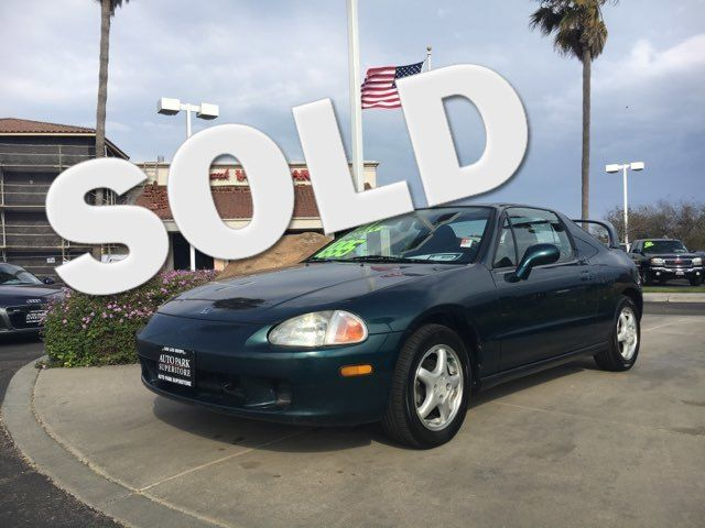 1997 Honda Civic del Sol Si Youll have change leftover when filling up this fuel efficient ride