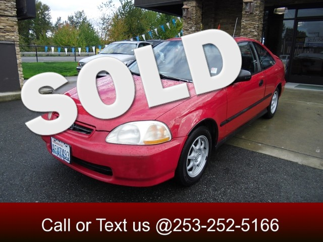 1997 Honda Civic HX The CARFAX Buy Back Guarantee that comes with this vehicle means that you can b