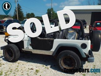 1997 Jeep Wrangler SE   Medina, OH   Towne Auto Sales in ohio OH