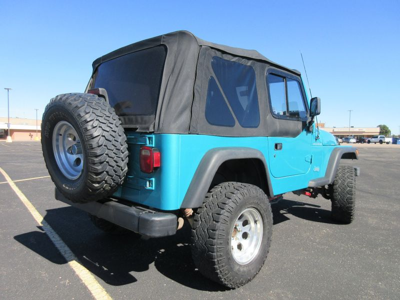 1997 Jeep Wrangler SE 4X4  Fultons Used Cars Inc  in , Colorado