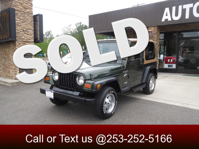 1997 Jeep Wrangler Sport 4WD The CARFAX Buy Back Guarantee that comes with this vehicle means that