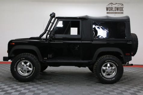 1997 Land Rover DEFENDER 90 RARE NAS AUTOMATIC CONVERTIBLE! BELUGA BLACK | Denver, Colorado | Worldwide Vintage Autos in Denver, Colorado