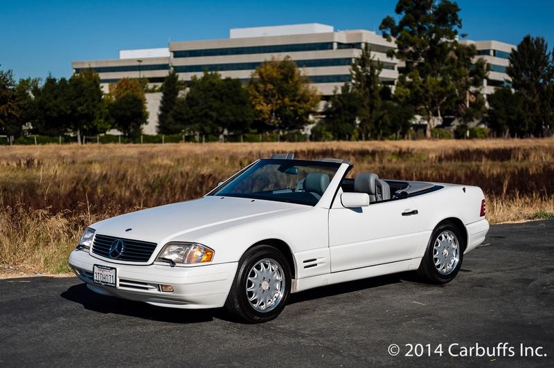 1997 mercedes benz sl500 concord ca 94520