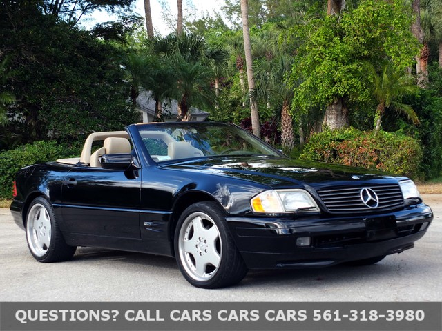 1997 mercedes benz sl500 used mercedes benz sl class for for Mercedes benz wpb
