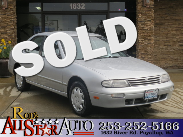 1997 Nissan Altima XE The CARFAX Buy Back Guarantee that comes with this vehicle means that you ca