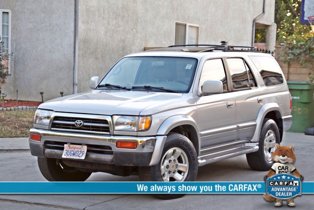 1997 Toyota 4RUNNER LIMITED SUNROOF AUTOMATIC LEATHER Woodland Hills, CA 0