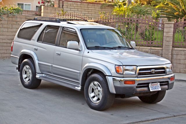 1997 Toyota 4RUNNER LIMITED SUNROOF AUTOMATIC LEATHER Woodland Hills, CA 7