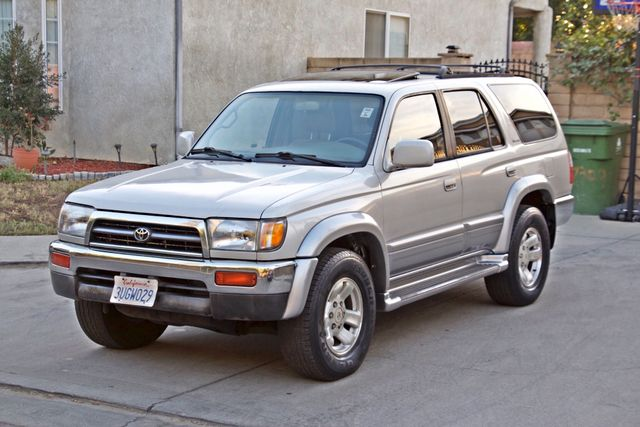 1997 Toyota 4RUNNER LIMITED SUNROOF AUTOMATIC LEATHER Woodland Hills, CA 9