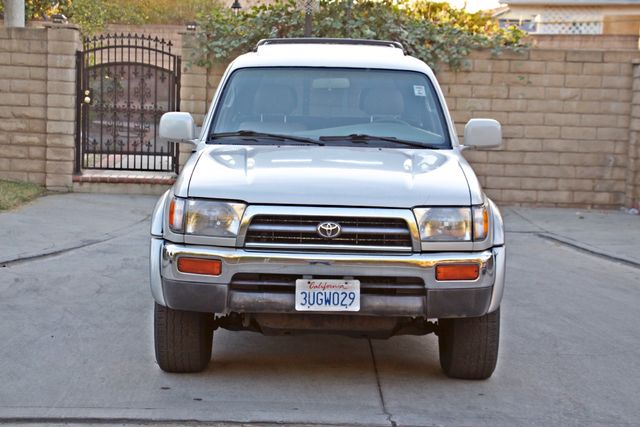 1997 Toyota 4RUNNER LIMITED SUNROOF AUTOMATIC LEATHER Woodland Hills, CA 8
