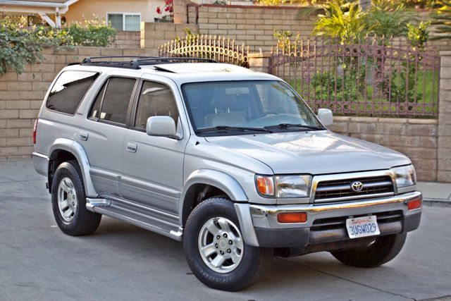 1997 Toyota 4RUNNER LIMITED SUNROOF AUTOMATIC LEATHER Woodland Hills, CA 5