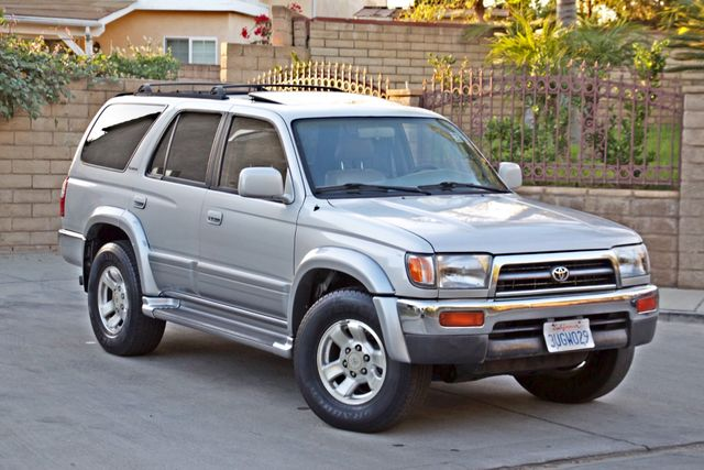 1997 Toyota 4RUNNER LIMITED SUNROOF AUTOMATIC LEATHER Woodland Hills, CA 6