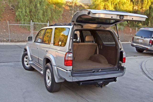 1997 Toyota 4RUNNER LIMITED SUNROOF AUTOMATIC LEATHER Woodland Hills, CA 10