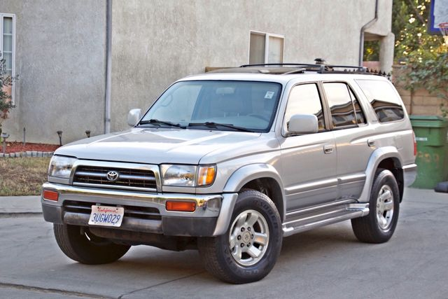 1997 Toyota 4RUNNER LIMITED SUNROOF AUTOMATIC LEATHER Woodland Hills, CA 25
