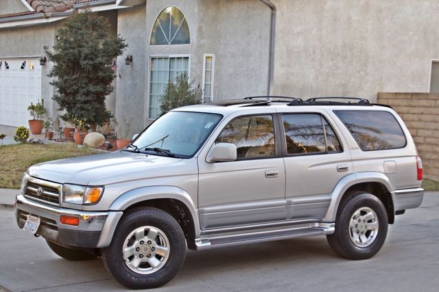 1997 Toyota 4RUNNER LIMITED SUNROOF AUTOMATIC LEATHER Woodland Hills, CA 1