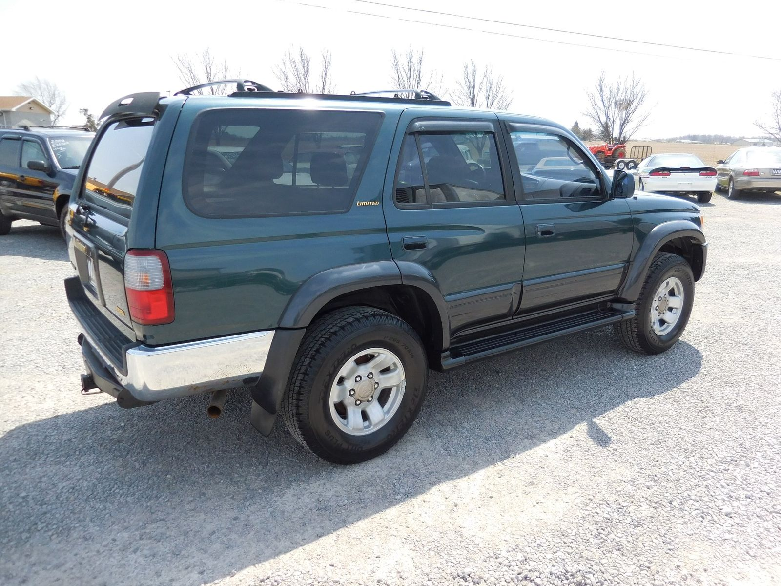 1997 Toyota 4runner Limited Tire Size Best Toyota Series 2018