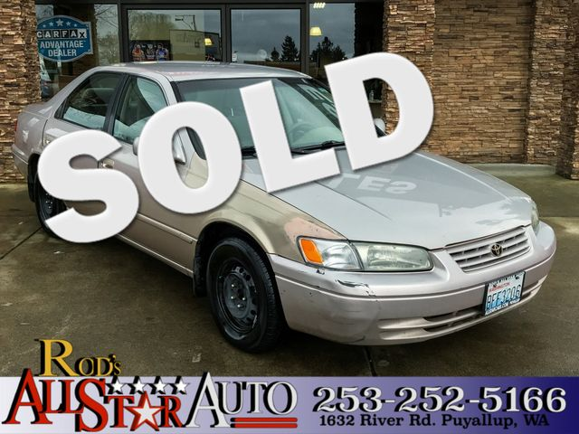 1997 Toyota Camry LE The CARFAX Buy Back Guarantee that comes with this vehicle means that you can