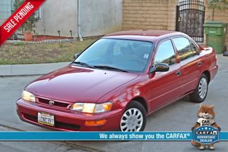 1997 Toyota COROLLA CE 54K ORIGINAL MLS 1-OWNER AUTO POWER WINDOWS NEW TIRES SERVICE RECORDS Woodland Hills, CA