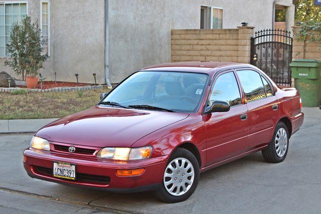 1997 Toyota COROLLA CE 54K ORIGINAL MLS 1-OWNER AUTO POWER WINDOWS NEW TIRES SERVICE RECORDS Woodland Hills, CA 10