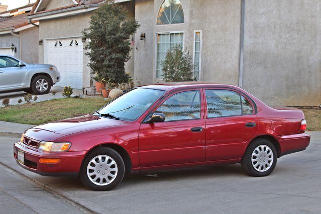 1997 Toyota COROLLA CE 54K ORIGINAL MLS 1-OWNER AUTO POWER WINDOWS NEW TIRES SERVICE RECORDS Woodland Hills, CA 1