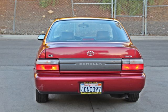 1997 Toyota COROLLA CE 54K ORIGINAL MLS 1-OWNER AUTO POWER WINDOWS NEW TIRES SERVICE RECORDS Woodland Hills, CA 4
