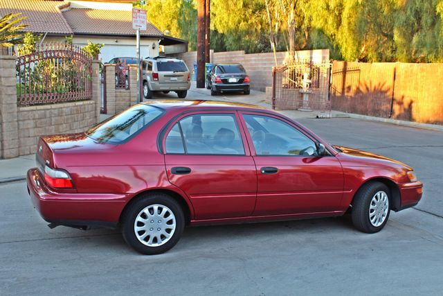 1997 Toyota COROLLA CE 54K ORIGINAL MLS 1-OWNER AUTO POWER WINDOWS NEW TIRES SERVICE RECORDS Woodland Hills, CA 5