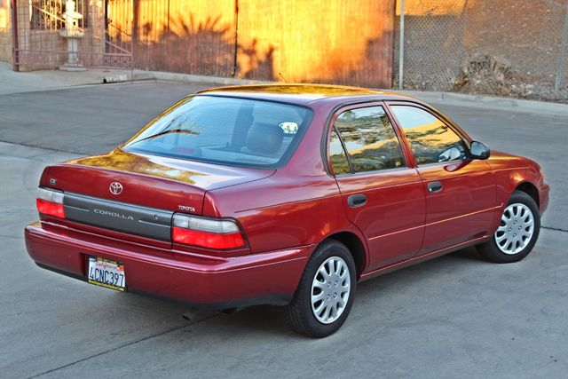 1997 Toyota COROLLA CE 54K ORIGINAL MLS 1-OWNER AUTO POWER WINDOWS NEW TIRES SERVICE RECORDS Woodland Hills, CA 6