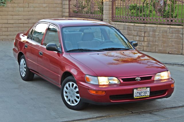1997 Toyota COROLLA CE 54K ORIGINAL MLS 1-OWNER AUTO POWER WINDOWS NEW TIRES SERVICE RECORDS Woodland Hills, CA 7