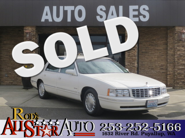 1998 Cadillac Deville Northstar The CARFAX Buy Back Guarantee that comes with this vehicle means t