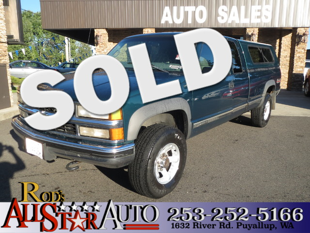 1998 Chevrolet CK 2500 4WD The CARFAX Buy Back Guarantee that comes with this vehicle means that