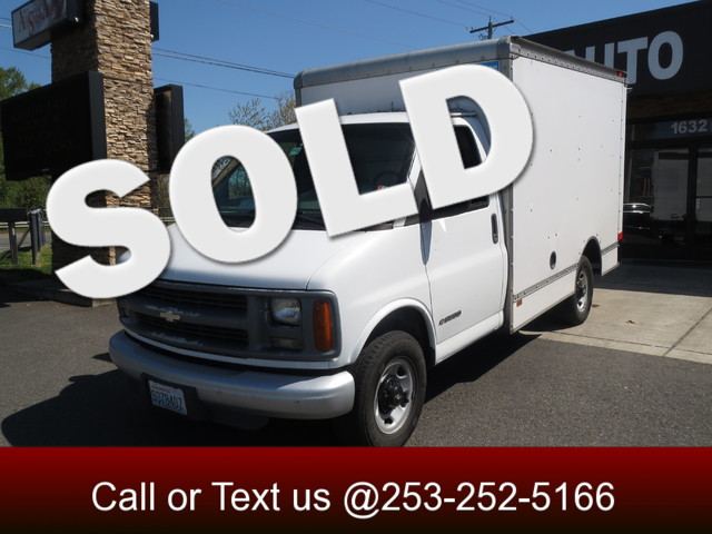 1998 Chevrolet G Commercial Cutaway Box Truck The CARFAX Buy Back Guarantee that comes with this v