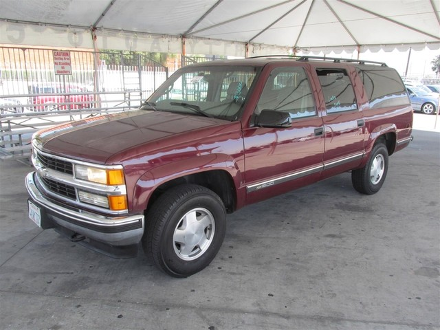 1998 Chevrolet Suburban This particular Vehicle comes with 3rd Row Seat Please call or e-mail to