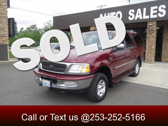 1998 Ford Expedition XLT 4WD The CARFAX Buy Back Guarantee that comes with this vehicle means that