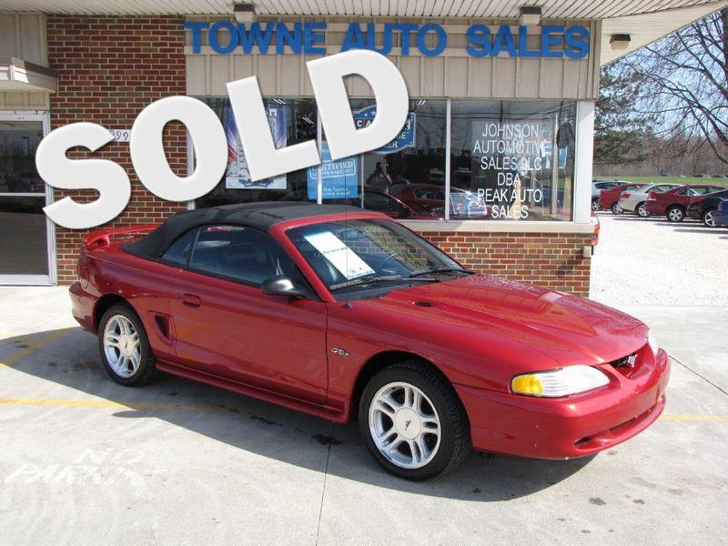 1998 Ford Mustang GT   Medina, OH   Towne Cars in Medina OH