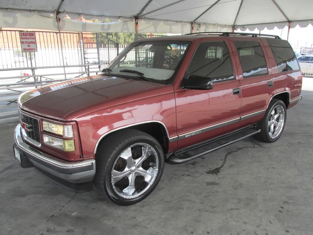 1998 GMC Yukon This particular Vehicles true mileage is unknown TMU Please call or e-mail to c