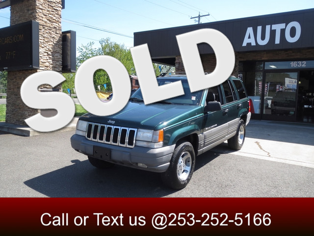 1998 Jeep Grand Cherokee Laredo 4WD The CARFAX Buy Back Guarantee that comes with this vehicle mea