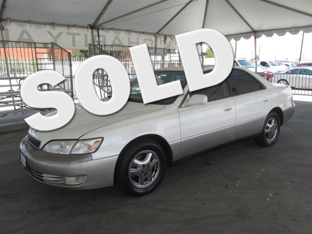 1998 Lexus ES 300 Luxury Please call or e-mail to check availability All of our vehicles are av
