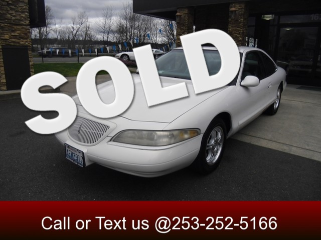 1998 Lincoln Mark VIII LSC Who ever said fast cant be comfortable This Mark VIII has it all Unde