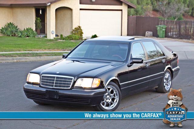 1998 Mercedes-Benz S420 SEDAN AUTOMATIC  NEW TIRES SERVICE RECORDS! Woodland Hills, CA 0