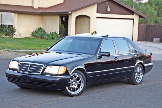 1998 Mercedes-Benz S420 SEDAN AUTOMATIC  NEW TIRES SERVICE RECORDS! Woodland Hills, CA 24